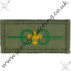 Bar to Medal of Merit Badge Khaki Pre 1967 9a