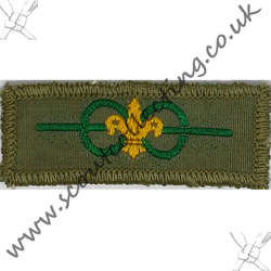 Bar to Medal of Merit Badge Khaki Pre 1967 9b