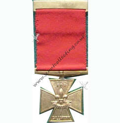 Bronze Cross Medal Iss 3