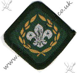 Chief's Scout Award 1971 to 1981