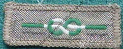 Chief Scouts Certificate Cloth for Meritorious Conduct