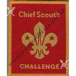 Chief Scouts Challenge 1986 to 2001