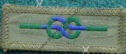 Chief Scouts Commendation Cloth for Meritorious Conduct