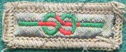 Chief Scouts Medal Cloth for Meritorious Conduct