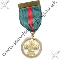 Chief Scouts Medal for Meritorious Conduct 1946 to 1967