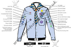 Explorer Scout Air Uniform Post 2002