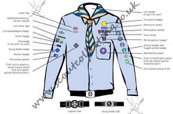 Explorer Scout Sea Uniform Post 2002