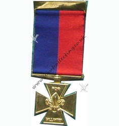Gilt Cross Medal Iss 4