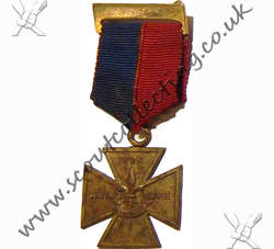 Gilt Cross Medal Iss 1