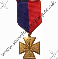 Gilt Cross Medal Iss 2