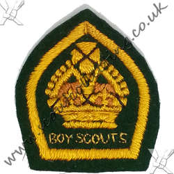 King Scout Felt Named 1928 to 1929 2nd