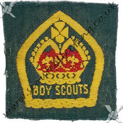 King Scout Ribbon 1929 to 1934 1st