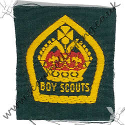 King Scout Ribbon 1929 to 1934 2nd