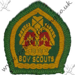 King Scout Woven & Bound 1939 to 1967 1st
