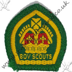 King Scout Woven & Bound 1939 to 1967 2nd