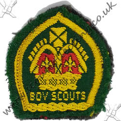 King Scout Woven not Bound 1939 to 1945
