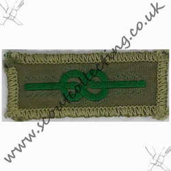 Medal of Merit Badge Khaki 1929-1967 6d
