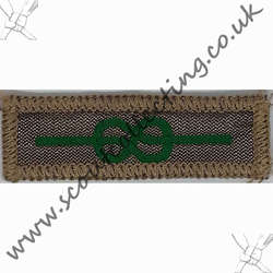 Medal of Merit Badge Nylon 1970-1980 6e