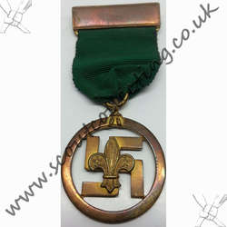 Medal of Merit Swastika 1927-1935 Version 3a