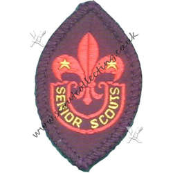 Membership Senior Scout Badge 1947 to 1967