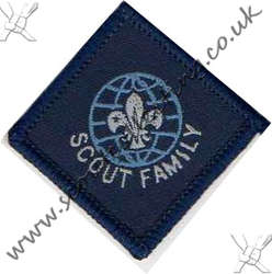 Scout Family Award 1990 to 2001