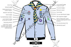 Scout Network Air Uniform Post 2002