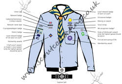 Scout Network Sea Uniform Post 2002