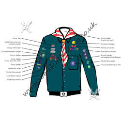 Scout Uniform Post 2002