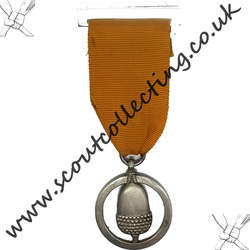 Silver Acorn Award Medal Iss 1a