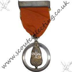 Silver Acorn Award Medal Iss 2a