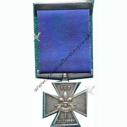 Silver Cross Medal Iss 3