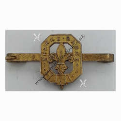 Type 8 Thanks Badge Gold Broach